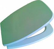 SAPAL 49S389A001 Copriwater Copri water Sedile WC in legno poliestere 34.7x47.5 cm Emilia