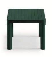 SCAB 1030 Tavolo da giardino in resina Quadrato 47x47x38 h colore Verde 1022 Daddy