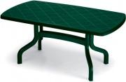 SCAB 1854 Tavolo da Giardino Resina Ribaltabile Dim. 160x90 cm Verde  Contract
