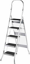 SCAB Scala Alluminio 5 gradini a Libretto Altezza max 182,5 cm - 762 Balzo