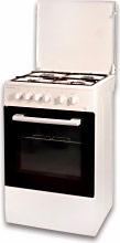 SCHAUB LORENZ Cucina a Gas 4 Fuochi Forno Elettrico Grill 50x50 cm BSLCG450EW
