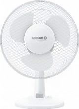 SENCOR Ventilatore da Tavolo 3 Pale ø 23 cm Oscillante SFE2320WH