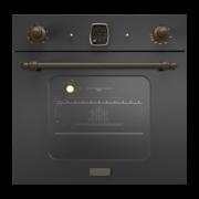 SMALVIC 1021548400 Forno Incasso Ventilato Elettrico 64 Lt A+ 60 cm Antracite 102154840