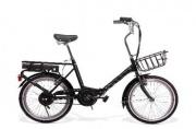SMARTWAY F3 Bicicletta elettrica E-Bike Bici Pieghevole 200 W 20km Nero