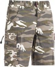 SOCIM E0201CAMXL Pantaloni Corti da Lavoro Bermuda Multitasche Cotone Taglia XL