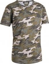 SOCIM E0446CAML T shirt lavoro Cotone Maglietta manica corta mimetica tg L