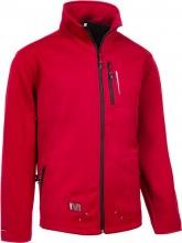SOCIM I0340ROL Giubbotto Uomo Poliestere Zip Taglia L Rosso Softshell Parker