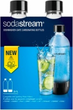 SODASTREAM 151620 Bottiglia per Gasatore in Plastica Capacità 1 lt conf. 2pz