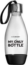 SODASTREAM 1748162410 Bottiglia da Passeggio Capacità 500 ml Nero  My Only Bottle