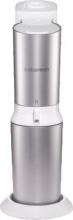 SODASTREAM 2270082 Gasatore Acqua Capacità 60 cl colore Argento  Crystal White