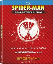 SONY PICTURES SPIDECOL6 Spiderman 1  6 Cofanetto BluRay