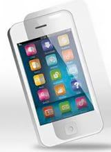 SPICE SPE003-I4 Pellicola protettiva in Vetro temperato anti impronta iPhone 4