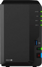 SYNOLOGY DS218+ NAS Storage 2 Slot 2GB DDR3L 1P LAN RJ45