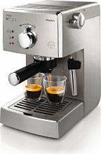 Saeco Macchina Caffè Manuale Espresso cialde macinato Cappuccino Poemia HD842711