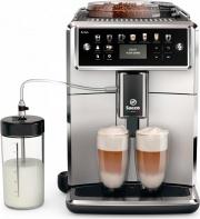 Saeco SM758100 Macchina Caffè Automatica Cappuccino macina caffè Nero  Xelsis