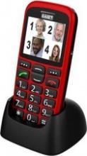 """SAIET 13500655 Magnum Smartphone 2.2"""" 85 G Rosso"""