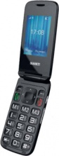 "SAIET 13500750 Vista Grafite Smartphone 2.4"" 100 G"