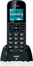"SAIET 13500919 Comodo Smartphone 1.8"" 75 G Nero"