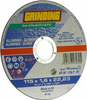 Saint Gobain 66252922844 grinding Minidisco Per Alluminio ø 115x1,6 Pezzi 50