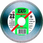 Sait 89802 Disco Diamantato 230 mmda taglio per smerigliatrice cemento mattoni