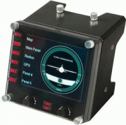 Saitek 945-000008 Comandi Aereo Controller Pro Flight 1 indicatore