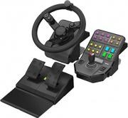 Saitek 945-000062 Volante con Pedali e controlli per Simulazione Giochi farming