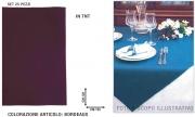 Salento Tnt T211-120 Tovaglia Coprimacchia Tnt 120x120 Set 25 pezzi Bordeaux