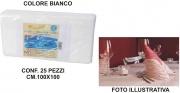 Salento Tnt T439160 Tovaglia Coprimacchia Carta 100x100 Set 25 pezzi Bianco