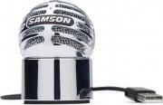 Samson METEORITE CHROME Microfono a Condesatore USB per Notebook