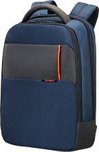 """Samsonite 16N-01-004 Zaino Porta Pc Notebook 14,1"""" colore Blu -  QIBYTE"""