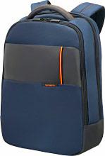 """Samsonite 16N-01-005 Zaino Porta Pc Notebook 15,6"""" colore Blu - QIBYTE"""