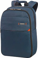 "Samsonite CC801005 Zaino Porta Pc Notebook 15,6"" colore Blu -  Network 3"