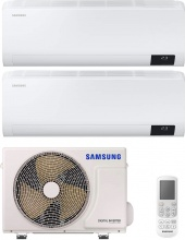 Samsung AR09+12TXHZAWKNEUAJ040TXJ2KG Climatizzatore Dual Split Inverter 9+12 Btu Condizionatore AJ040TX Luzon