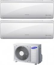 Samsung AR0909RXFPEWQ + AJ040NCJ2EG Climatizzatore Dual Split Inverter 9+9 Btu R32 Condizionatore Maldives