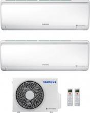 Samsung AR09+12RXFPEWQN+AJ040NCJ2EGEU Climatizzatore Dual Split Inverter 9+12 Btu Pompa Calore Serie Maldives