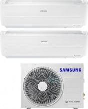 Samsung AR09+12RXWXC+AJ040NCJ2EG Climatizzatore Dual Split Inverter 9+12 Condizionatore (AJ040) Windfree