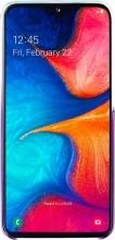 Samsung EF-AA202CVEGWW Custodia Cover per Galaxy A20E Violetto