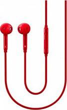 Samsung EO-EG920BREGWW Auricolari Cuffie Cuffiette Microfono tasto risposta Rosso EO-EG920BR