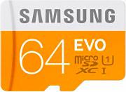 Samsung MBMP64DCEU Scheda di memoria micro SD 64 GB Class 10 + Adattatore USB MB-MP64DCEU