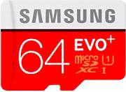 Samsung Memoria Micro SD 64 GB Class 10 Adattatore SD - MB-MC64DAEU