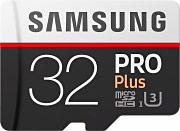 Samsung Scheda di Memoria Micro SD HC 32Gb + Adattatore SD MB-MD32GAEU Pro Plus