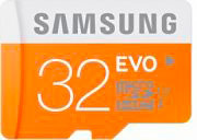Samsung Scheda di memoria flash Micro SD - 32 GB - MicroSD EVO - MB-MP32DEU