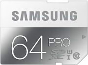 Samsung Scheda di Memoria SD 64GB Classe 10 PRO MB-SG64D