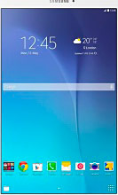"""Samsung SM-T561NZWAATO Galaxy Tab E Tablet 9.6"""" Touch 8Gb 3G Wi-Fi GPS Android"""