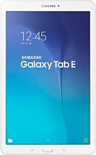 "Samsung Galaxy Tab E Tablet 9.6"" 8GB Wi-Fi GPS 3G 4G Android Bianco SM-T561NZW"