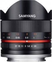 Samyang F1220310101 Obiettivo 8mm F2.8 UMC Fisheye (Fuji X)