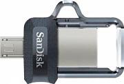 Sandisk 00173383 Pen Drive 16 Gb Ultra Dual Drive M3.0 MicroUSBUSB 3.0 SDDD3-016G-G46