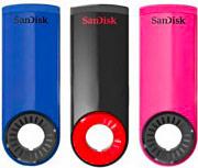 Sandisk Chiavetta USB Pen Drive Penna USB 2.0 16Gb 3 pz SDCZ57-016G-B46T