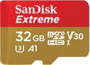 Sandisk SDSQXAF-032G-GN6AA Scheda di Memoria MicroSDHC 32 Gb Video Class V30