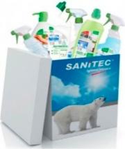 Sanitec 1004-S Kit Detergenza 6 pz Pulizia Ambienti 1002-S Ecolabel